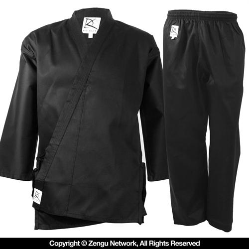 KD Elite Black Karate Uniform